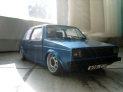 Volkswagen Golf 1 GTI calandre phare us et wheels ats