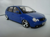 Volkswagen Polo 9n blue wheels 14 inches