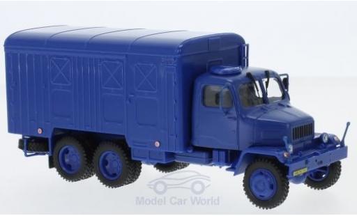 Praga V3S 1/43 Abrex Kasten bleue 1967 miniature
