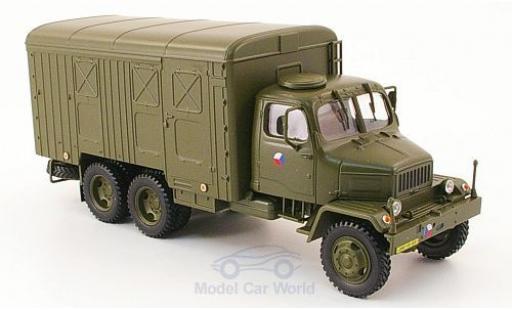 Praga V3S 1/43 Abrex Kasten oliv tschechische Armee modellautos