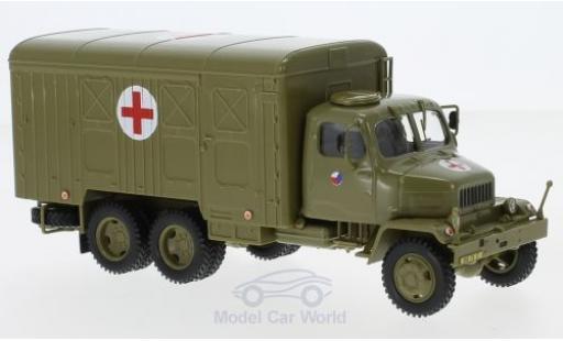 Praga V3S 1/43 Abrex Koffer Tschechische Armee 1967 miniature