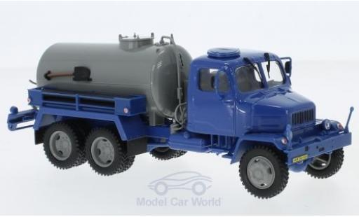 Praga V3S 1/43 Abrex Tankwagen blau/grau 1967 modellautos