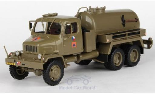 Praga V3S 1/43 Abrex Tankwagen Czech Army Civil Defense 1967 miniature