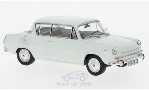 Skoda 110 1/43 Abrex 0MBX hellgrise 1969 miniature