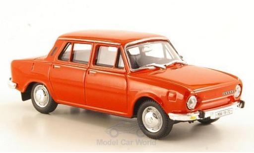 Skoda 110 1/43 Abrex L rouge 1973 miniature