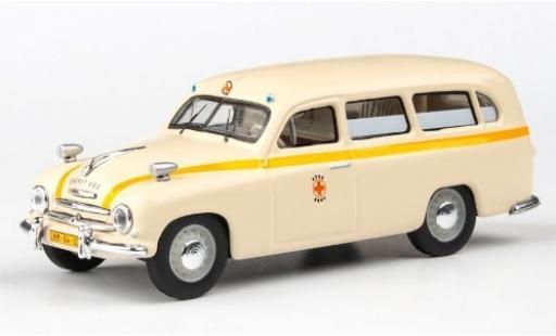 Skoda 120 1/43 Abrex 1 Ambulance Brünn 1956 Rettungswagen miniature