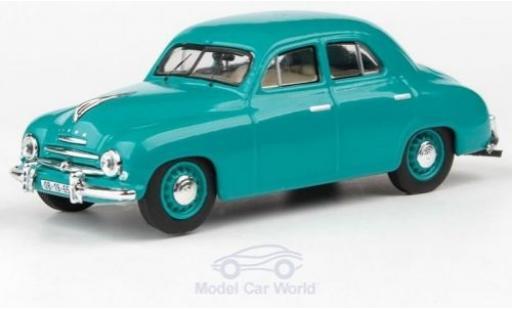 Skoda 120 1/43 Abrex 1 turquoise 1956 miniature