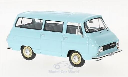 Skoda 1203 1/43 Abrex Mikrobus bleue 1974 miniature