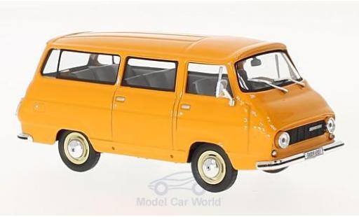 Skoda 1203 1/43 Abrex Mikrobus orange 1974 miniature