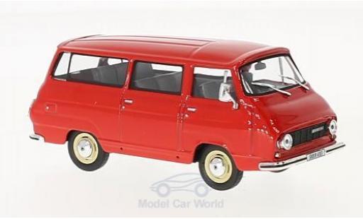 Skoda 1203 1/43 Abrex Mikrobus rouge 1974 miniature