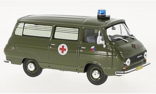 Skoda 1203 1/43 Abrex Tschechische Armee 1974 ambulance miniature