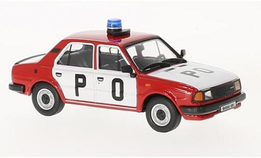 Skoda 120 1/43 Abrex L 1984 pompiers (CZ) miniature