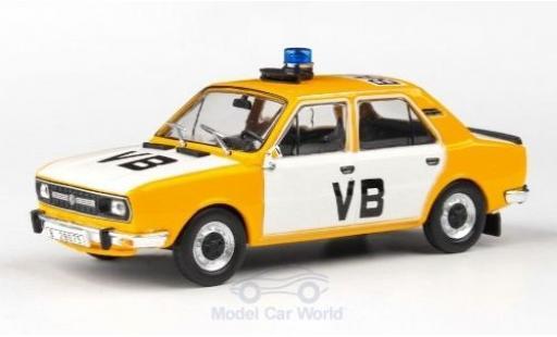 Skoda 120 1/43 Abrex L Czechoslovak Communist Police 1982 modellautos
