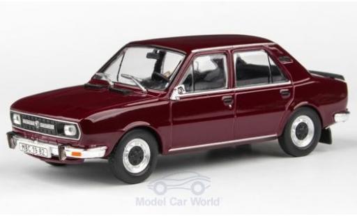 Skoda 120 1/43 Abrex L rouge 1982 miniature