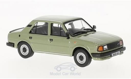 Skoda 120 1/43 Abrex L grise 1986 miniature