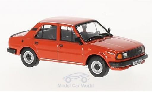 Skoda 120 1/43 Abrex L rouge 1984 miniature