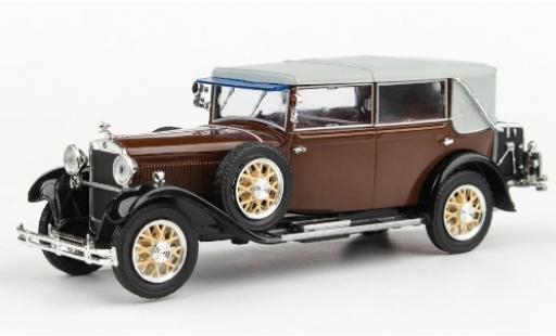 Skoda 860 1/43 Abrex marron/noire 1932 miniature