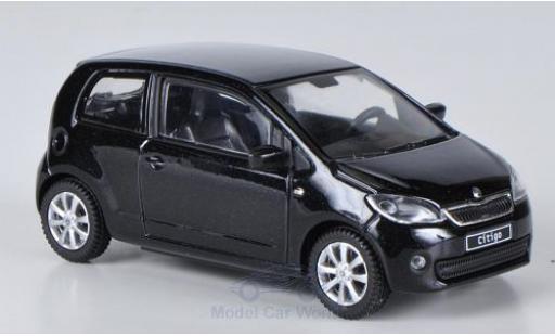Skoda Citigo 1/43 Abrex métallisé noire 2012 3-Türer miniature