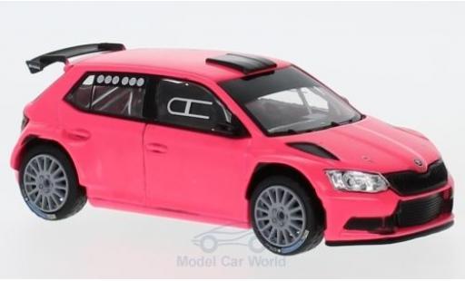 Skoda Fabia 1/43 Abrex III R5 matt-rose 2015 miniature