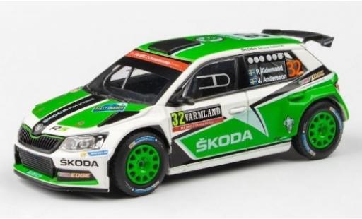 Skoda Fabia 1/43 Abrex III R5 No.32 Rallye WM Rallye Schweden 2016 P.Tidemand/J.Andersson miniature