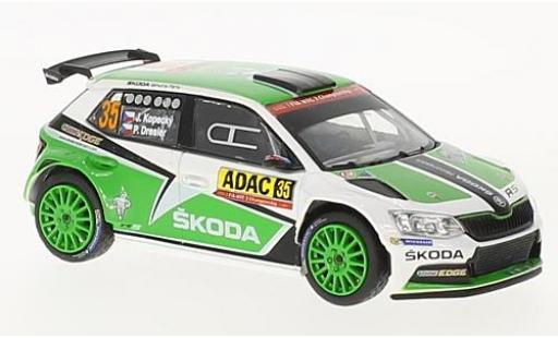 Skoda Fabia 1/43 Abrex III R5 No.35 Rallye WM Rallye Deutschland 2016 J.Kopecky/P.Dresler miniature