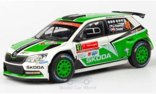 Skoda Fabia 1/43 Abrex III R5 No.41 Rallye WM Rallye Portugal 2016 J.Kopecky/P.Dresler miniature