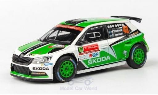 Skoda Fabia 1/43 Abrex III R5 No.43 Rallye WM Rallye Portugal 2015 P.Tidemand/E.Axelsson miniature