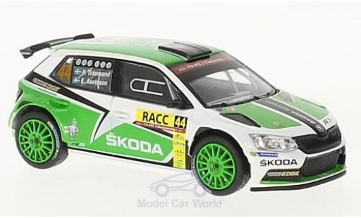 Skoda Fabia 1/43 Abrex III R5 No.44 Rallye WM Rallye Catalunya 2015 P.Tidemand/E.Axelsson miniature