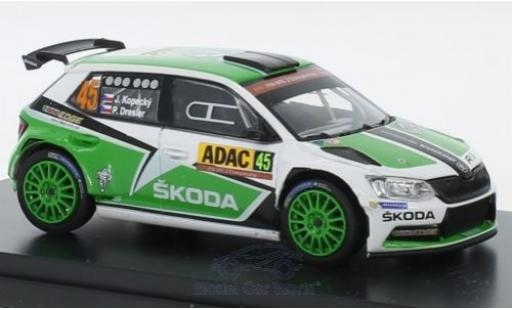 Skoda Fabia 1/43 Abrex III R5 No.45 Rallye WM Rallye Deutschland 2015 J.Kopecky/P.Dresler miniature