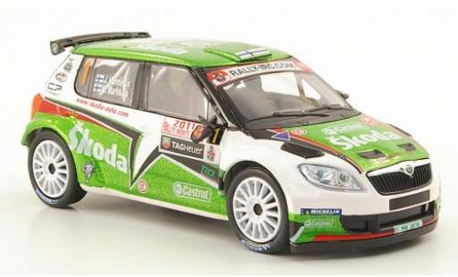 Skoda Fabia 1/43 Abrex S2000 No.1 Rallye Monte-Carlo 2011 miniature