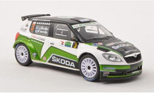 Skoda Fabia 1/43 Abrex S2000 No.3 Rallye Irland 2012 J.Hänninen/M.Markkula miniature