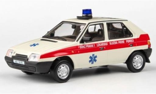 Skoda Favorit 1/43 Abrex 136L OUNZ Praha 1 1988 miniature