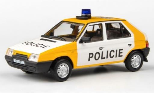 Skoda Favorit 1/43 Abrex 136L Policie (CZ) 1988 Policie (Tschechische Polizei) miniature