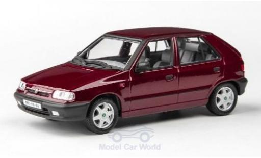 Skoda Felicia 1/43 Abrex 1.3 GLXi métallisé rouge 1994 miniature