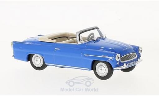 Skoda Felicia 1/43 Abrex Roadster bleue 1963 miniature