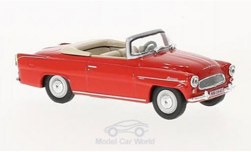Skoda Felicia 1/43 Abrex Roadster rouge 1963 miniature