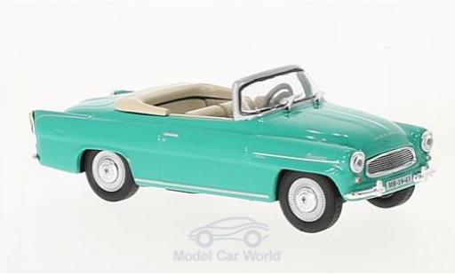 Skoda Felicia 1/43 Abrex Roadster turquoise 1963 miniature