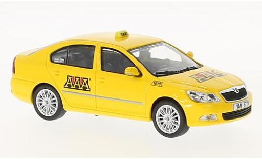 Skoda Octavia 1/43 Abrex II FL AAA Taxi 2008 modellautos