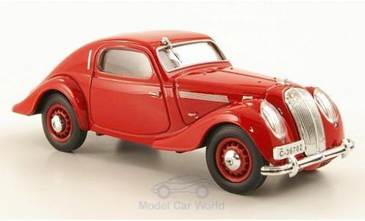 Skoda Popular Sport 1/43 Abrex Monte Carlo rouge RHD 1937 miniature