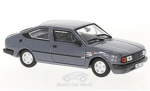 Skoda Rapid 1/43 Abrex 136 grise 1987 miniature