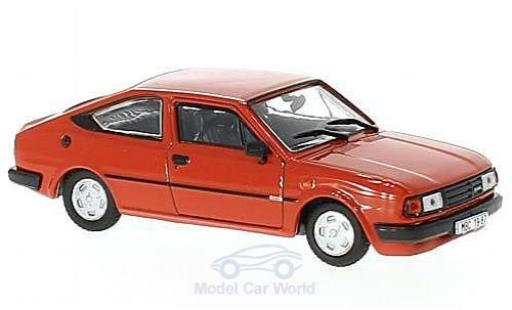 Skoda Rapid 1/43 Abrex 136 rouge 1987 miniature