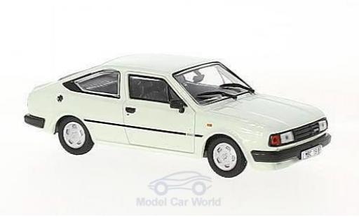 Skoda Rapid 1/43 Abrex 136 blanche 1987 miniature