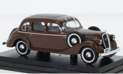 Skoda Superb 1/43 Abrex 913 marron 1938 miniature