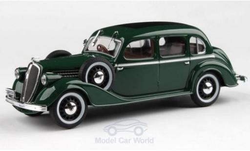 Skoda Superb 1/43 Abrex 913 verte RHD 1938 miniature