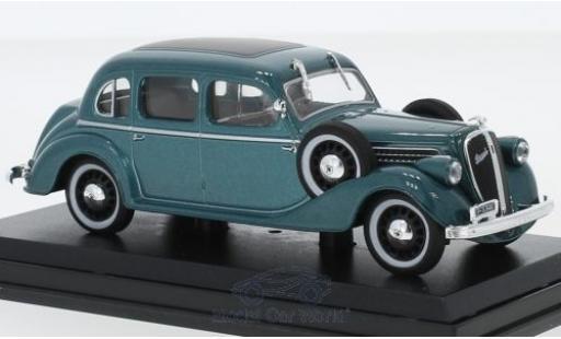 Skoda Superb 1/43 Abrex 913 metallise verte 1938 miniature