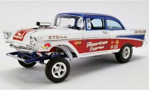 Chevrolet Bel Air 1/18 ACME Gasser American Express 1957 miniature