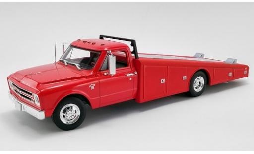 Chevrolet C-30 1/18 ACME Ramp Truck rouge 1967 dépanneuse miniature