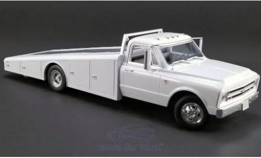 Chevrolet C-30 1/18 ACME Ramp Truck white 1967 diecast model cars