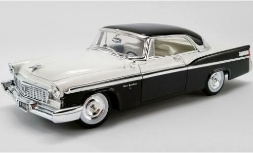 Chrysler New Yorker 1/18 ACME St. Regis noire/blanche 1956 miniature
