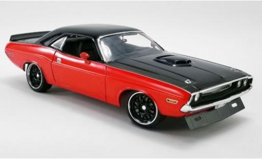 Dodge Challenger 1/18 ACME R/T Street Fighter red/black 1970 diecast model cars